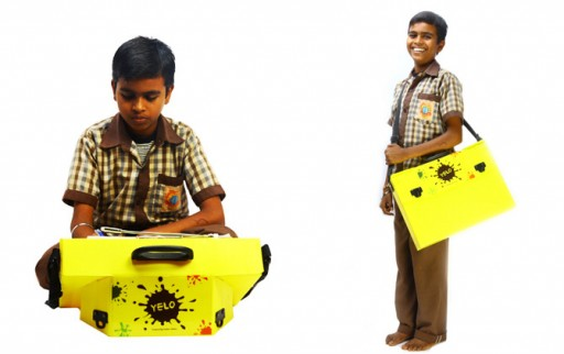 Empowering Rural Education - 'YELO' an Innovative Solar Powered School Bag that Converts into a Desk